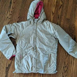 Burton women's down reversible snowboard jacket